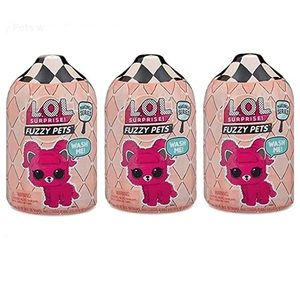 Other - L.O.L. Surprise Fuzzy Pets set of three
